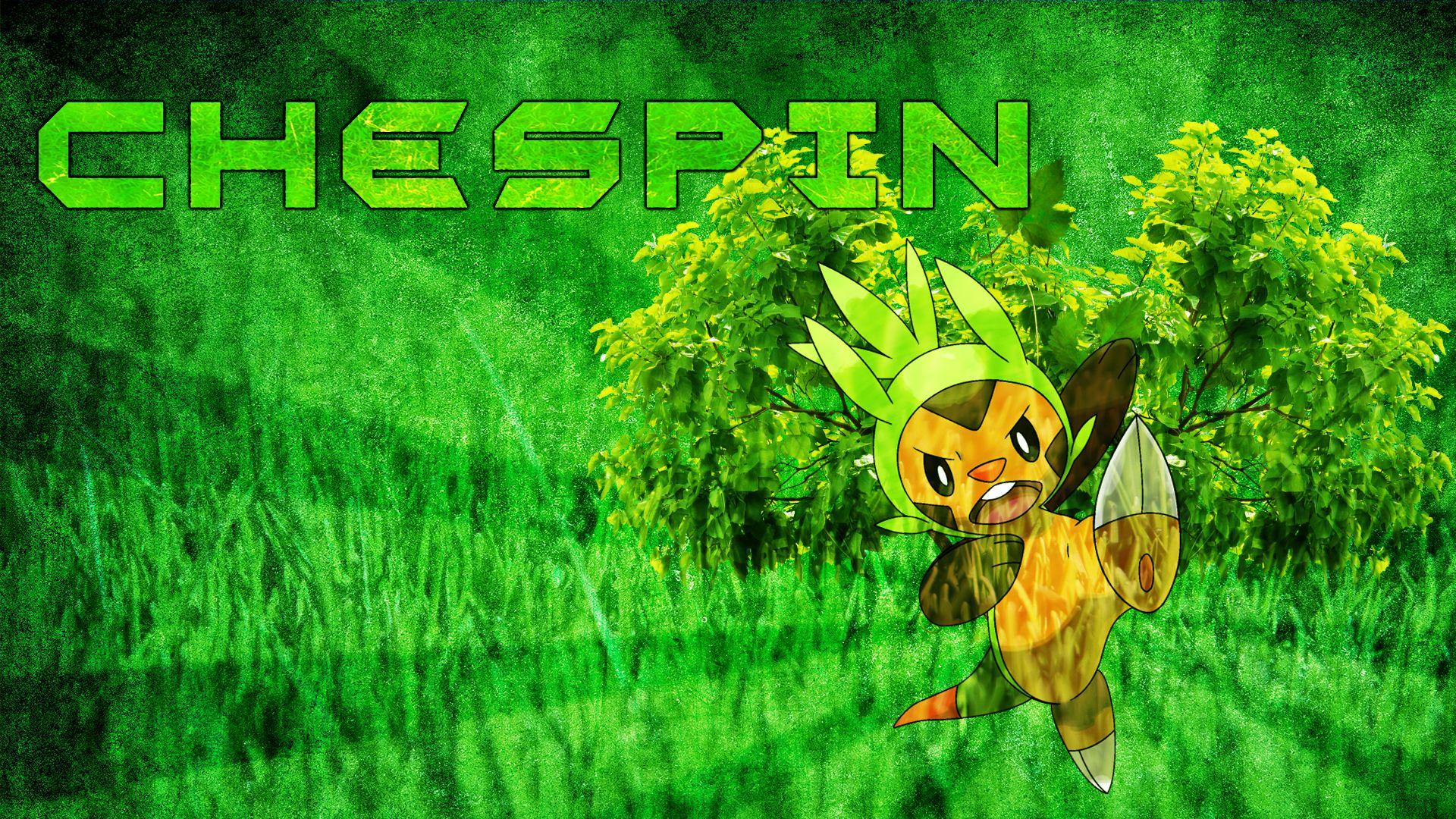 Chespin Wallpaper by MediaCriggz on DeviantArt