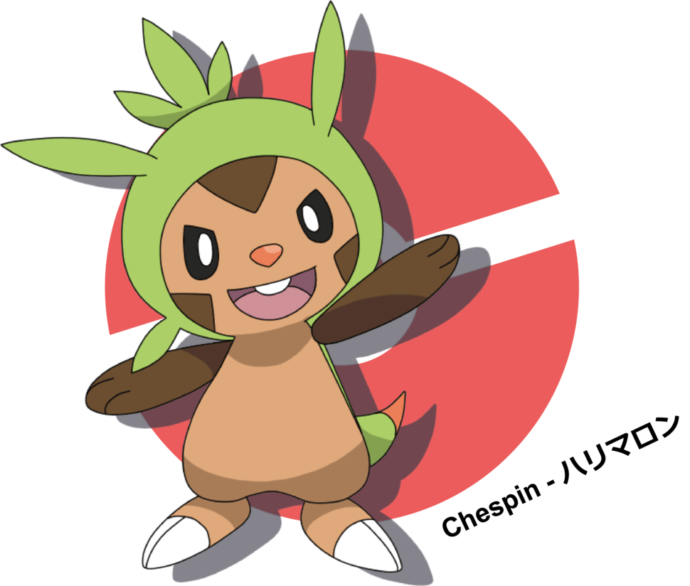 Chespin by LkikiL on DeviantArt