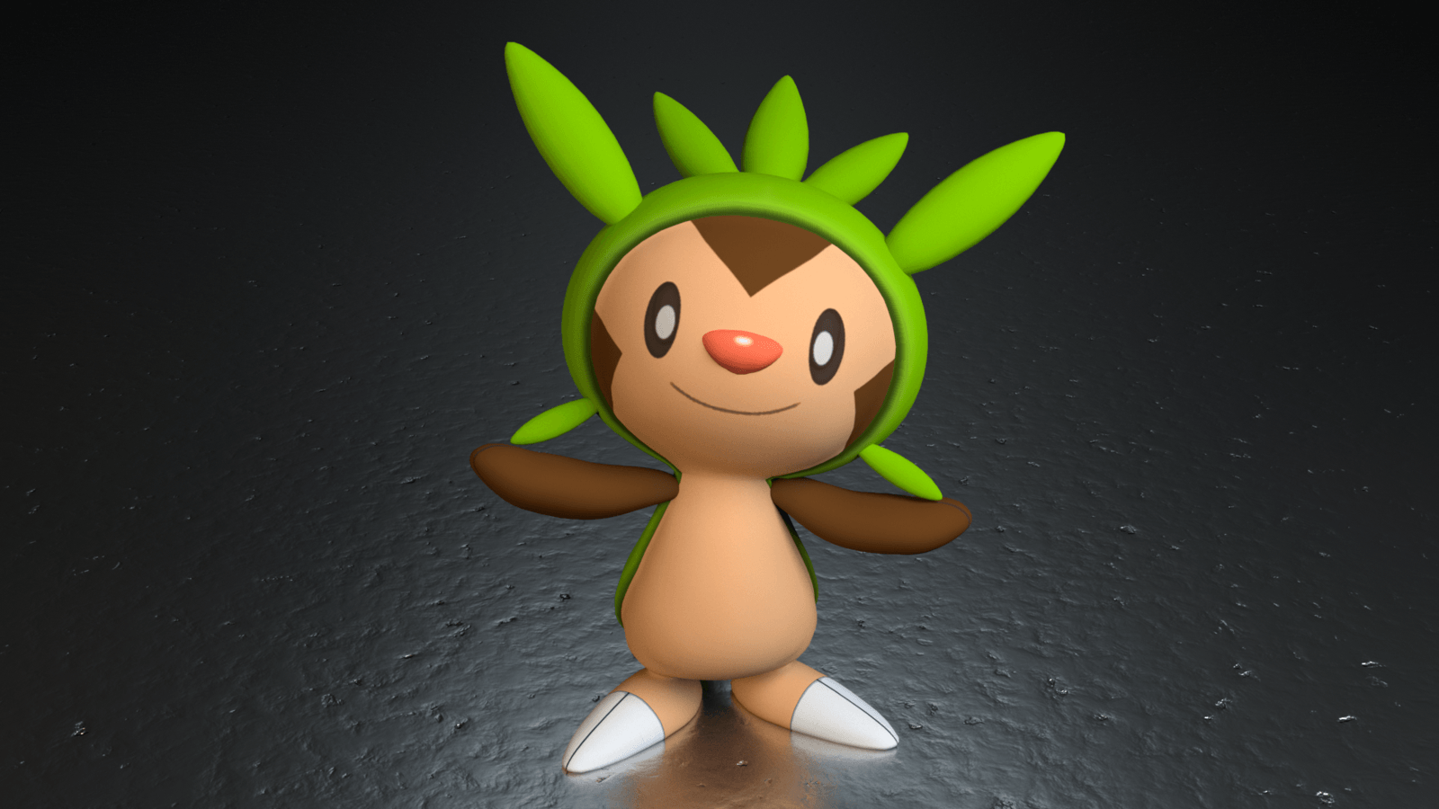 650. Chespin by TheAdorableOshawott on DeviantArt