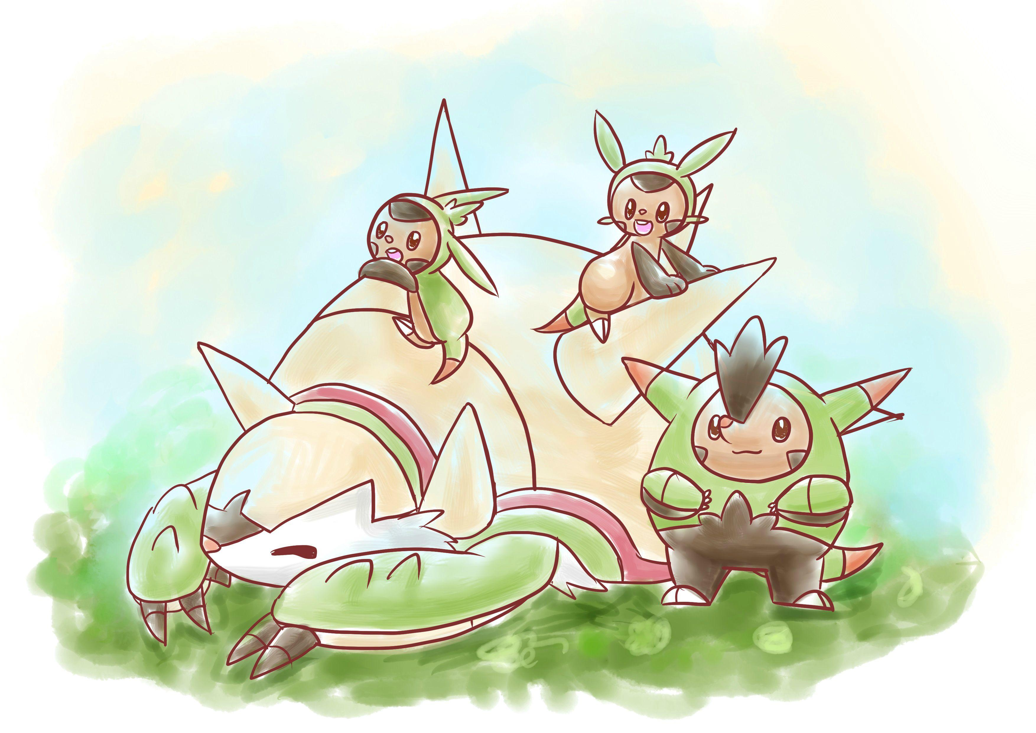 Adorable Chesnaught fanart