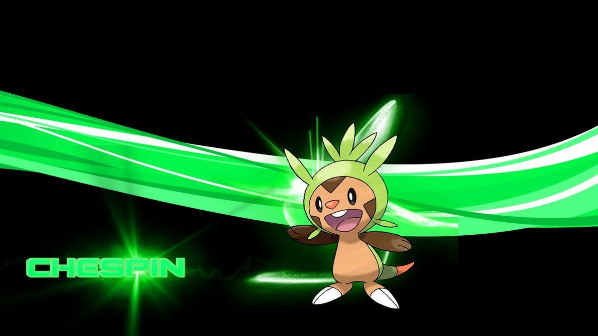 Chespin by xofficialaerox on DeviantArt