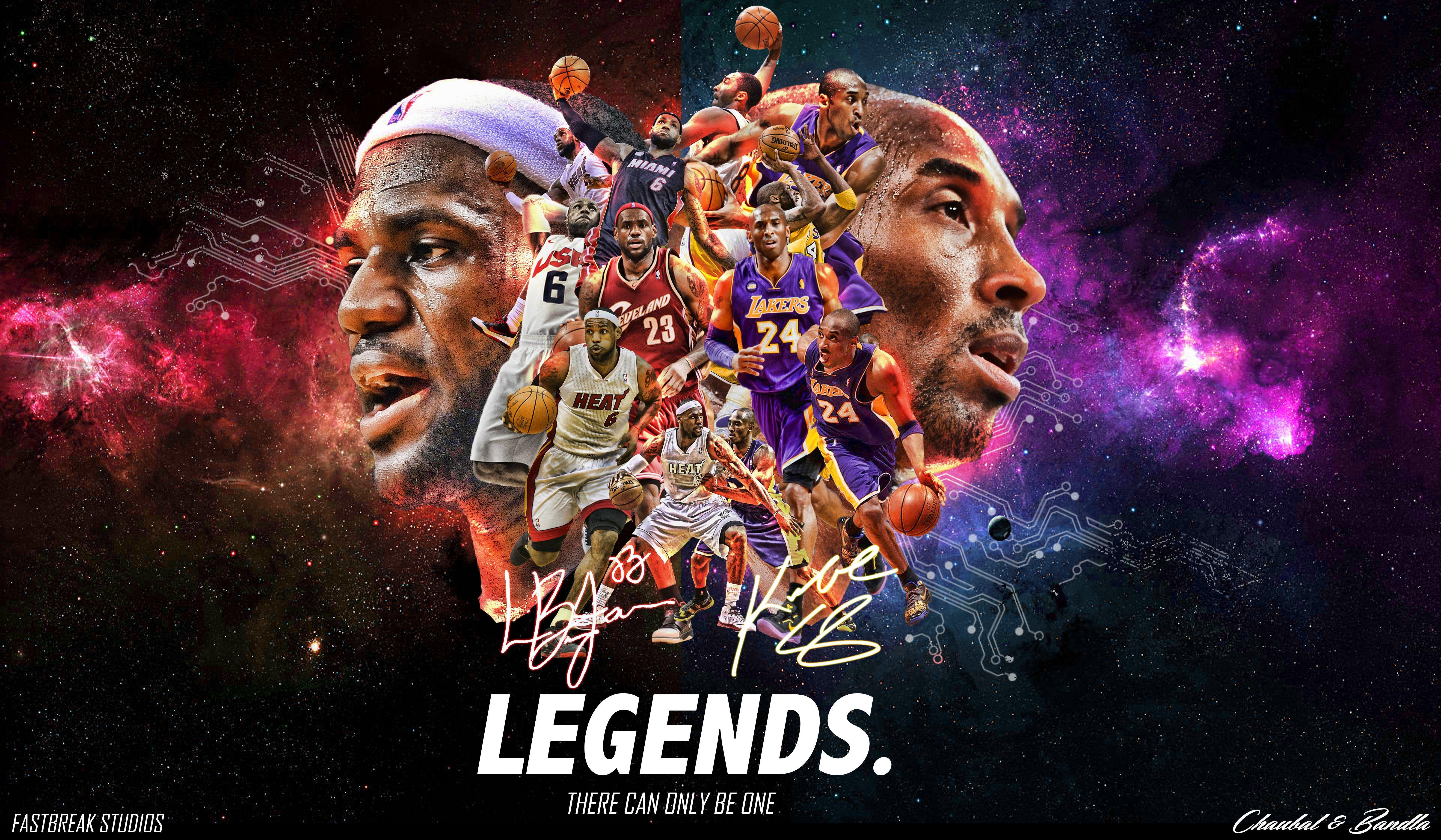Dope Nba Wallpaper: Nba Legends Wallpaper
