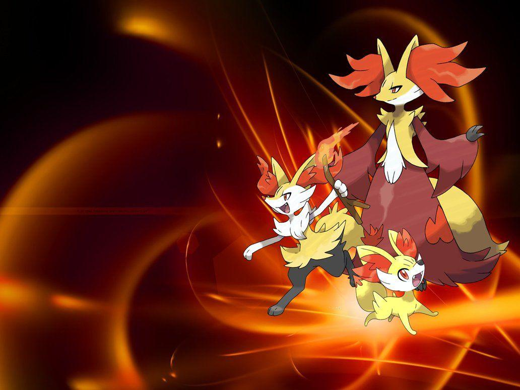 Fennekin Evolution wallpaper by XxNinja-PikachaoxX on DeviantArt