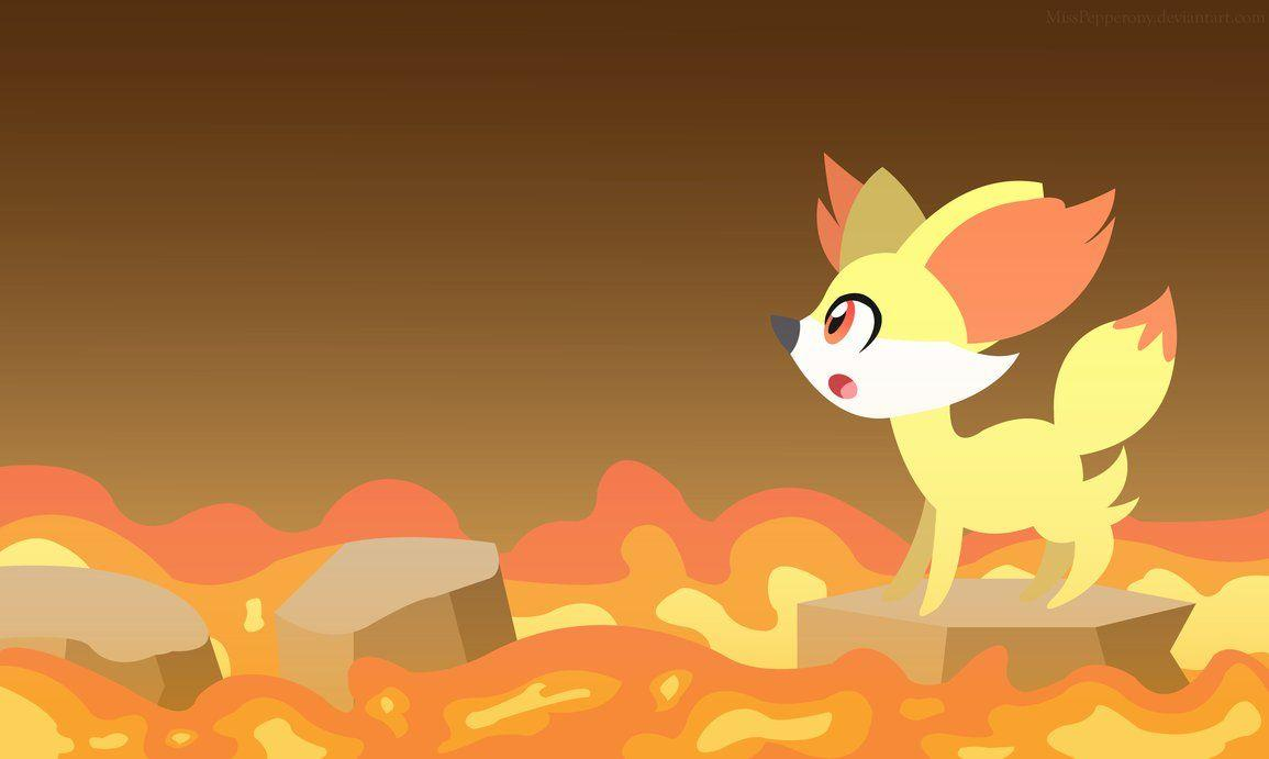 Fennekin by MissPepperony on DeviantArt