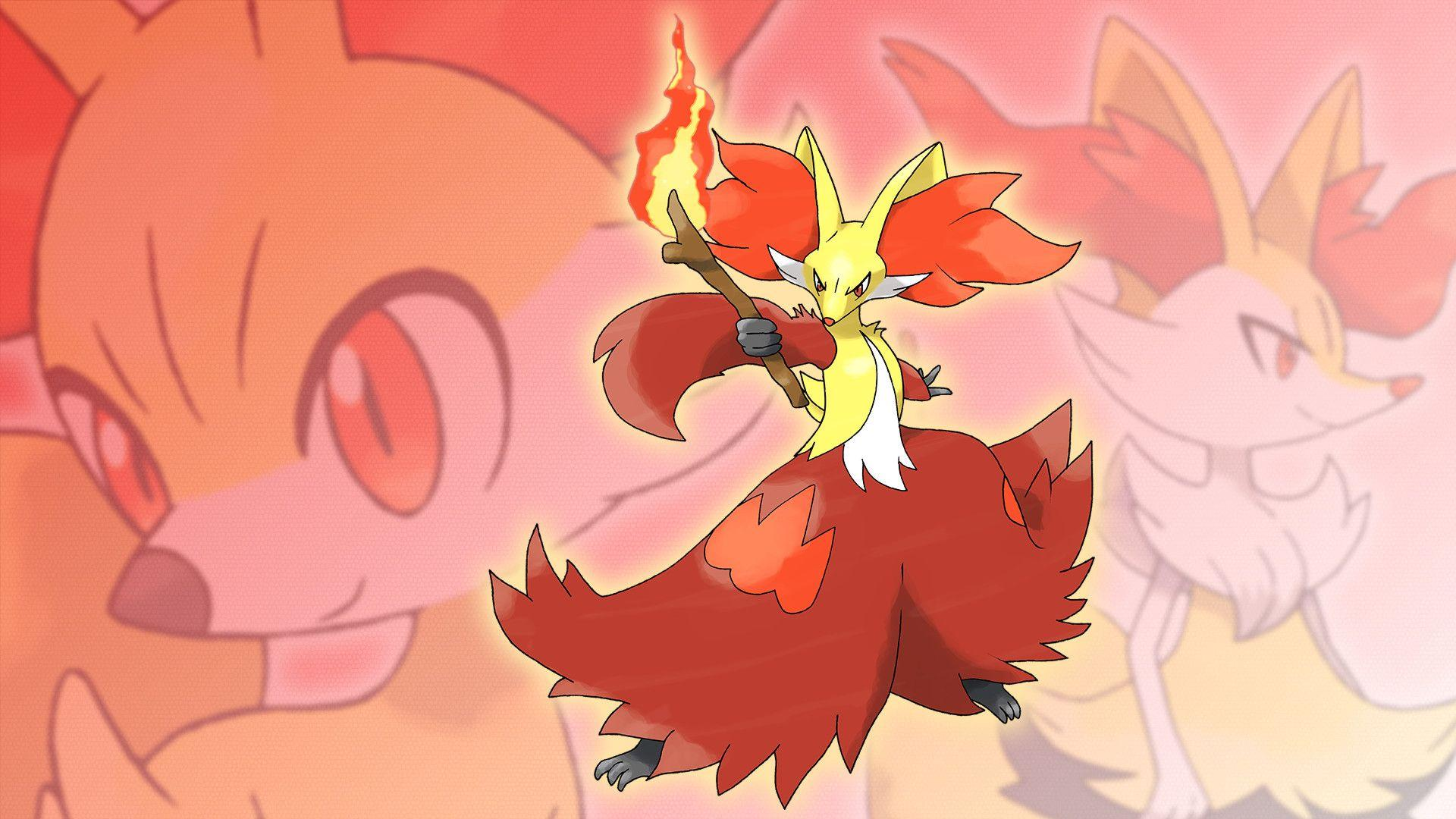 Delphox Wallpapers ·①