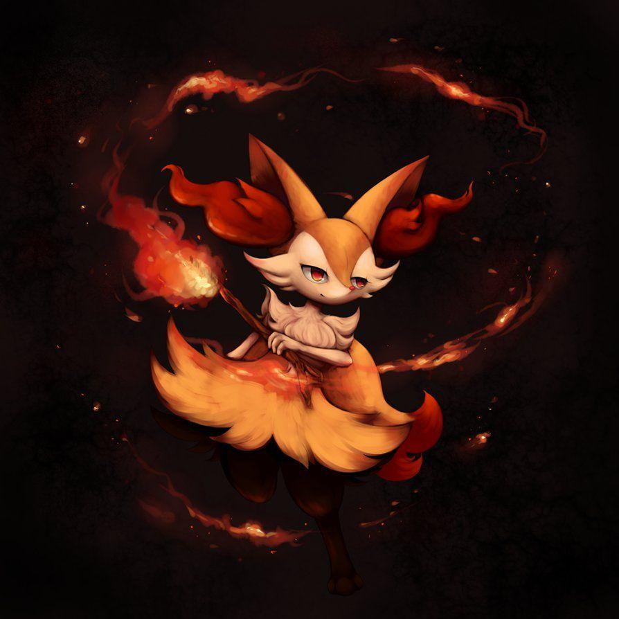 Braixen by Joltik92 on DeviantArt