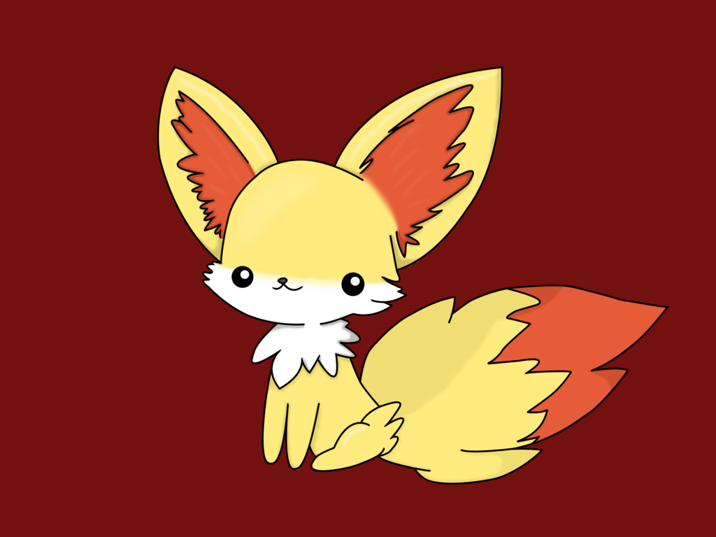 Fennekin Chibi~ by GoldfishPope on DeviantArt