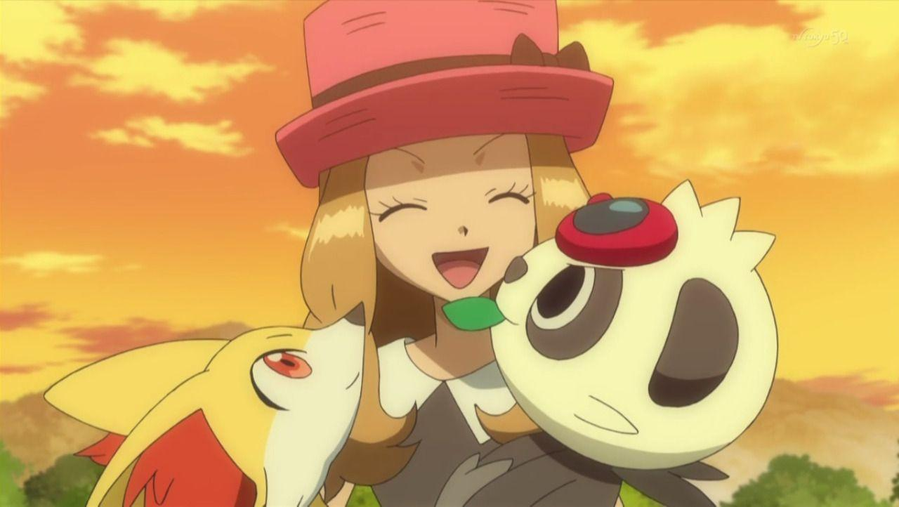 Serena (Pokemon XY) images Serena Fennekin and Pancham HD wallpaper ...
