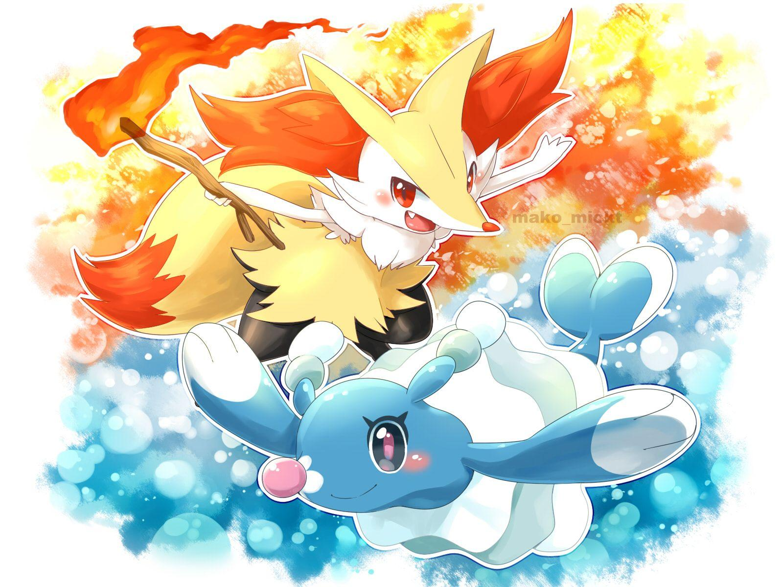 Braixen and Brionne are ready to perform! | Pokémon | Know Your Meme