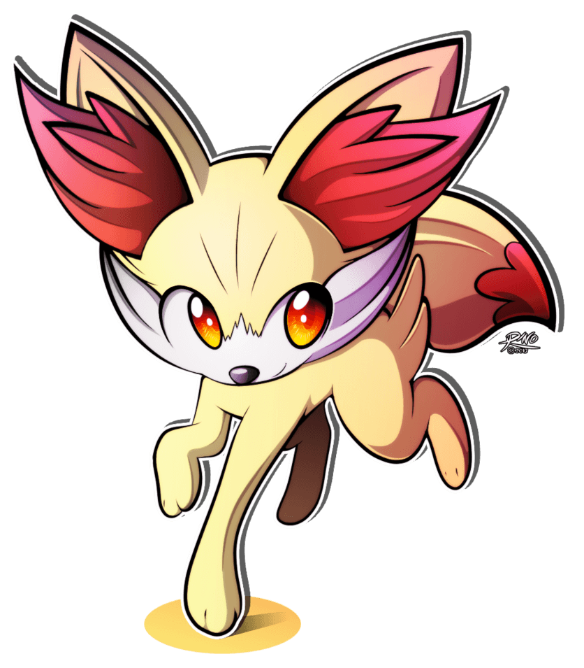 Fennekin images Fennekin Drawing HD wallpaper and background photos ...