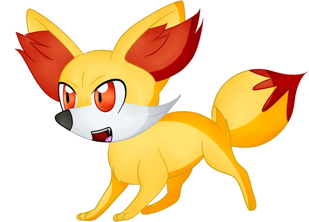 Fennekin drawing red fox ~ Frames ~ Illustrations ~ HD images ...