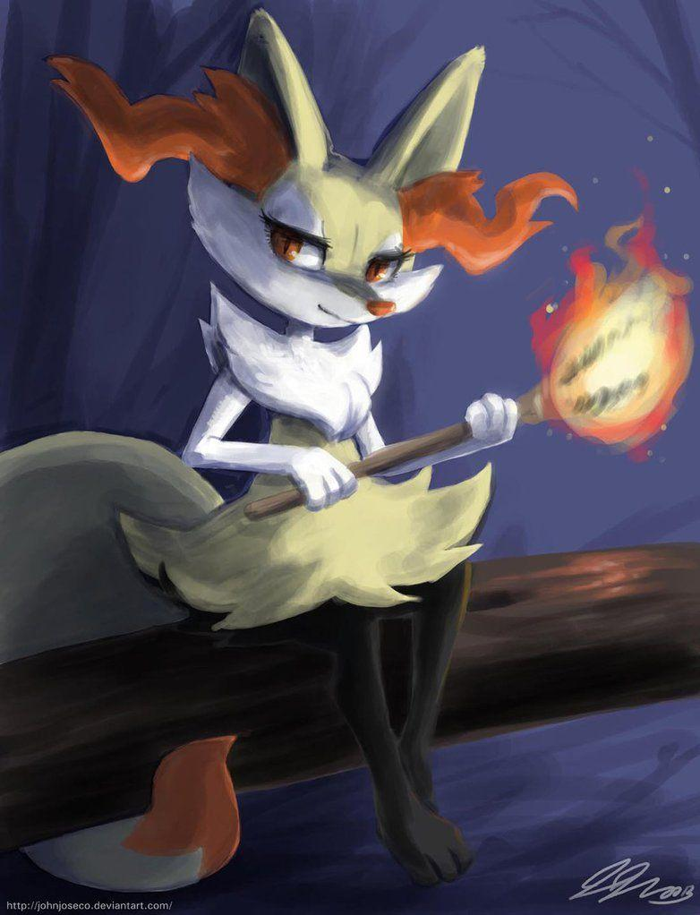 Braixen by johnjoseco on DeviantArt