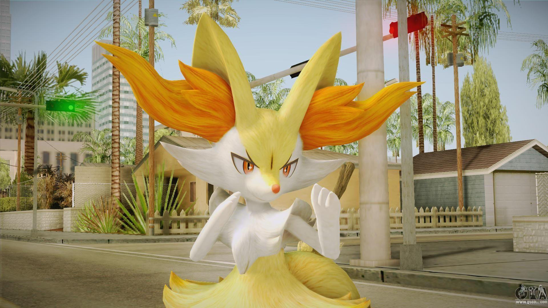 Braixen - Pokken Tournament (Pokemon) for GTA San Andreas