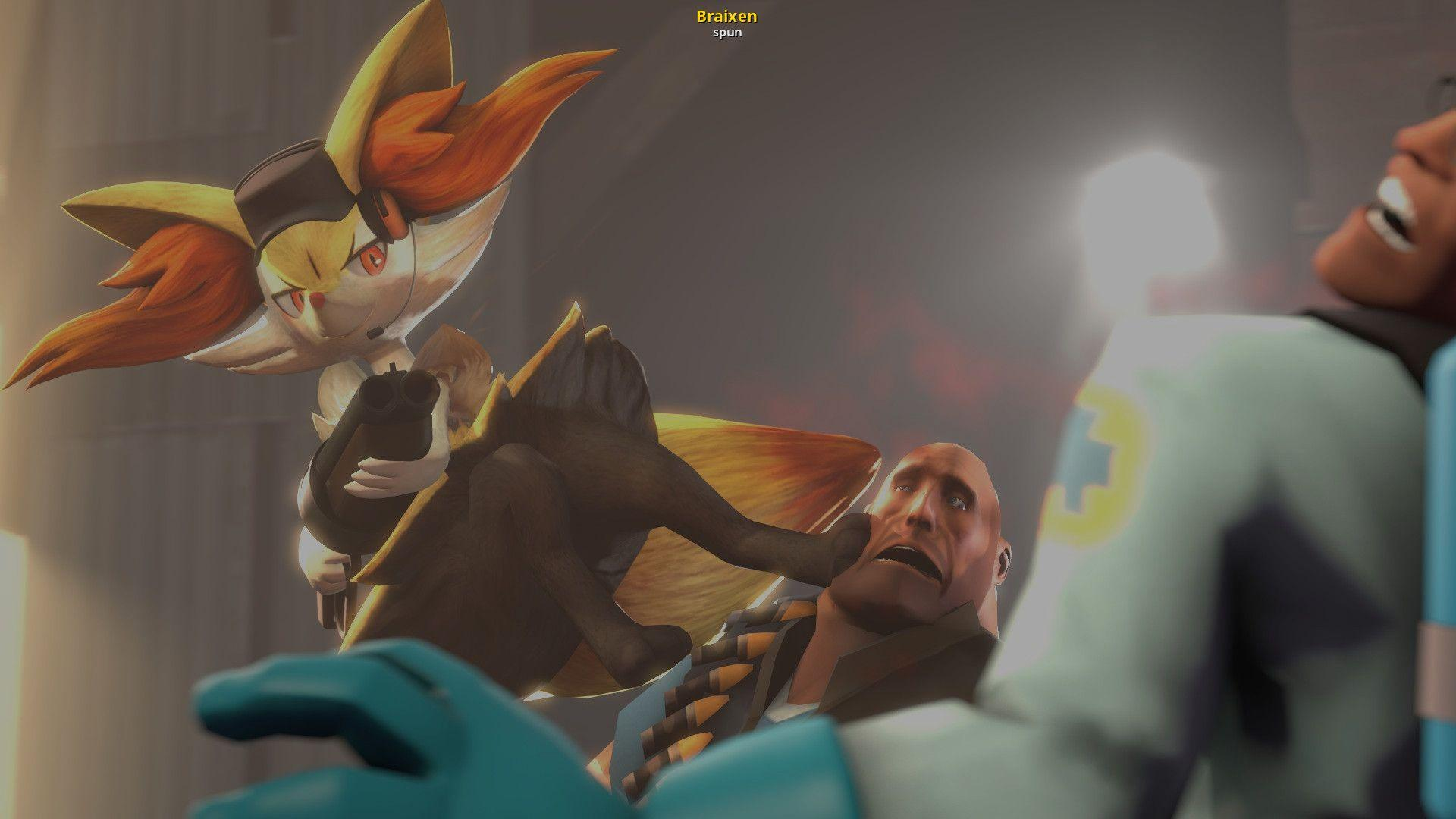 Braixen | Team Fortress 2 Skin Mods
