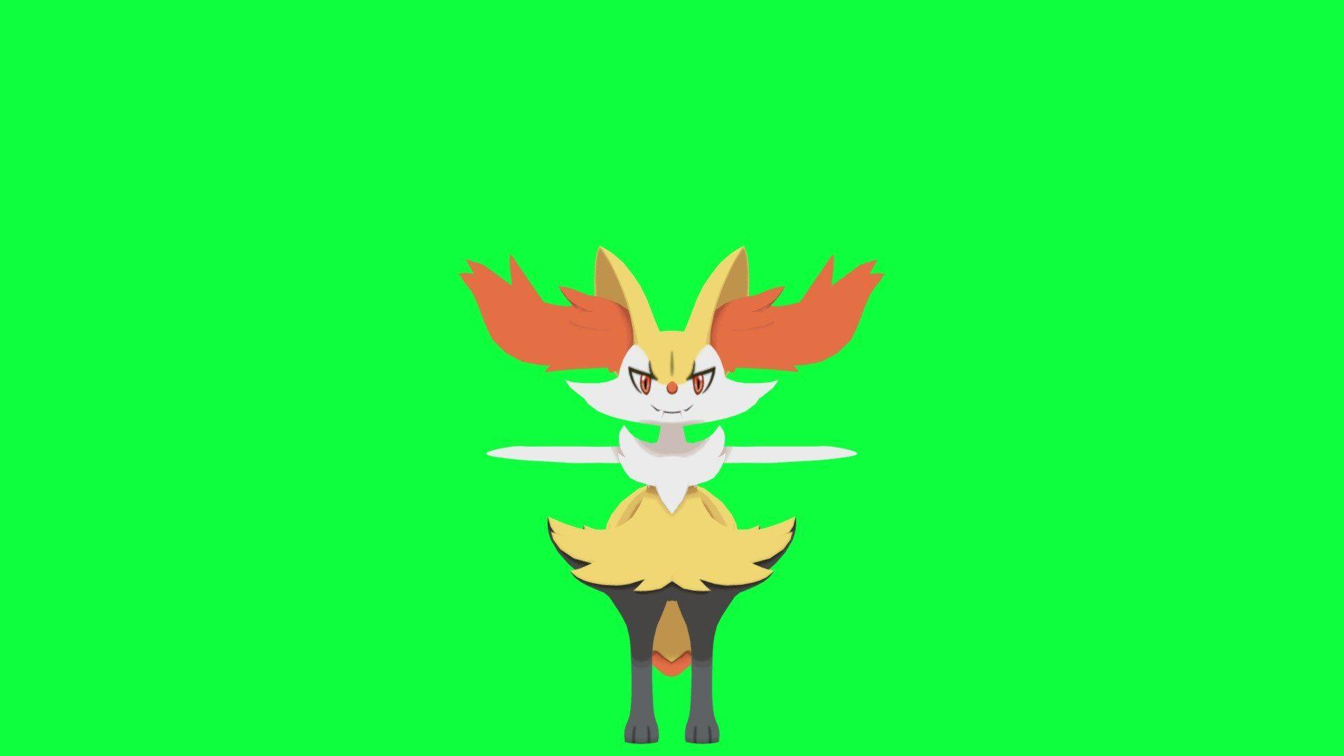 3DS - Pokemon X Y - Braixen - Download Free 3D model by akennedy007 ...