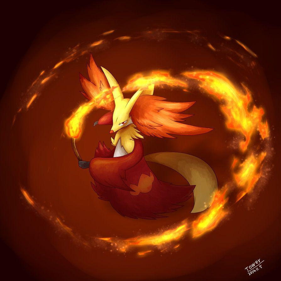 Delphox by Tower