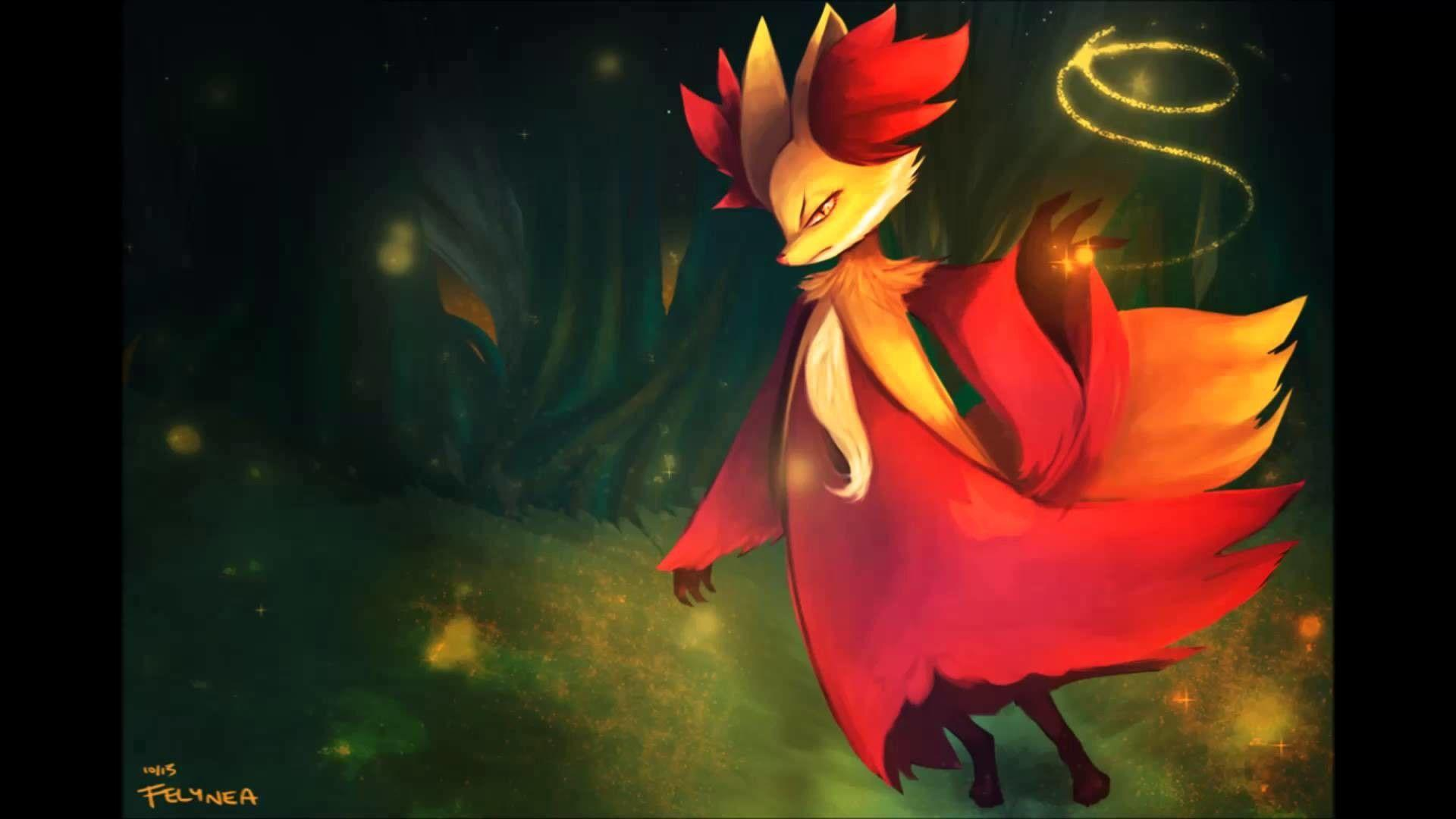 Delphox Wallpapers