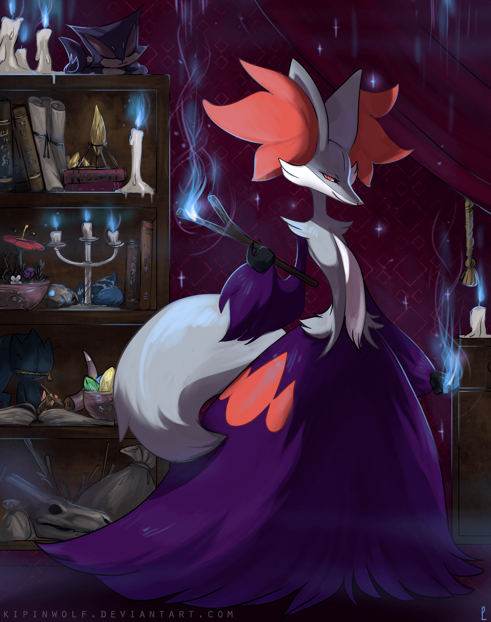 Can we please show some love for Delphox?