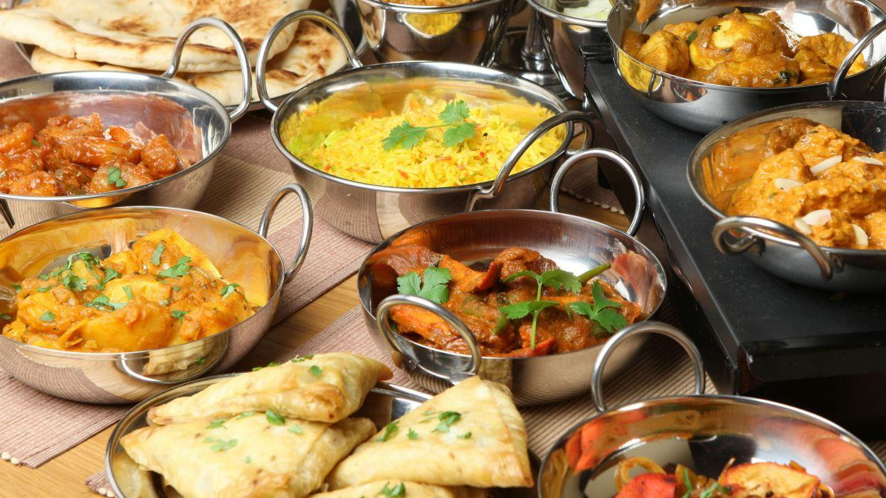Indian Food Wallpapers Wallpaper Cave