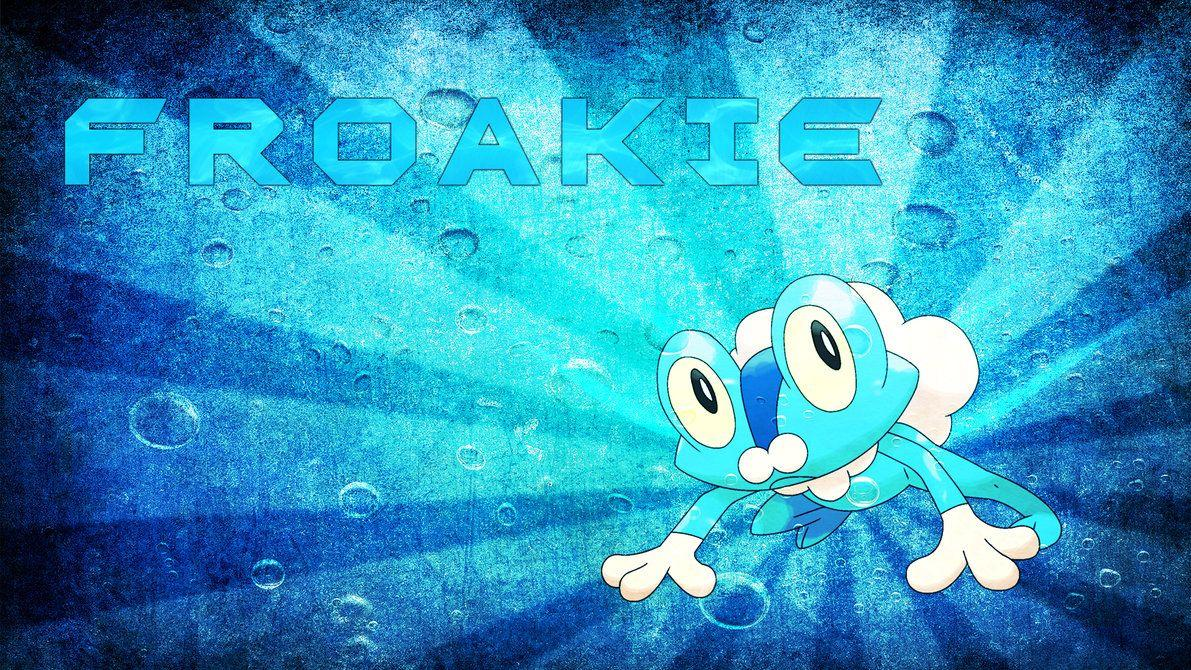 Froakie Wallpapers by MediaCriggz