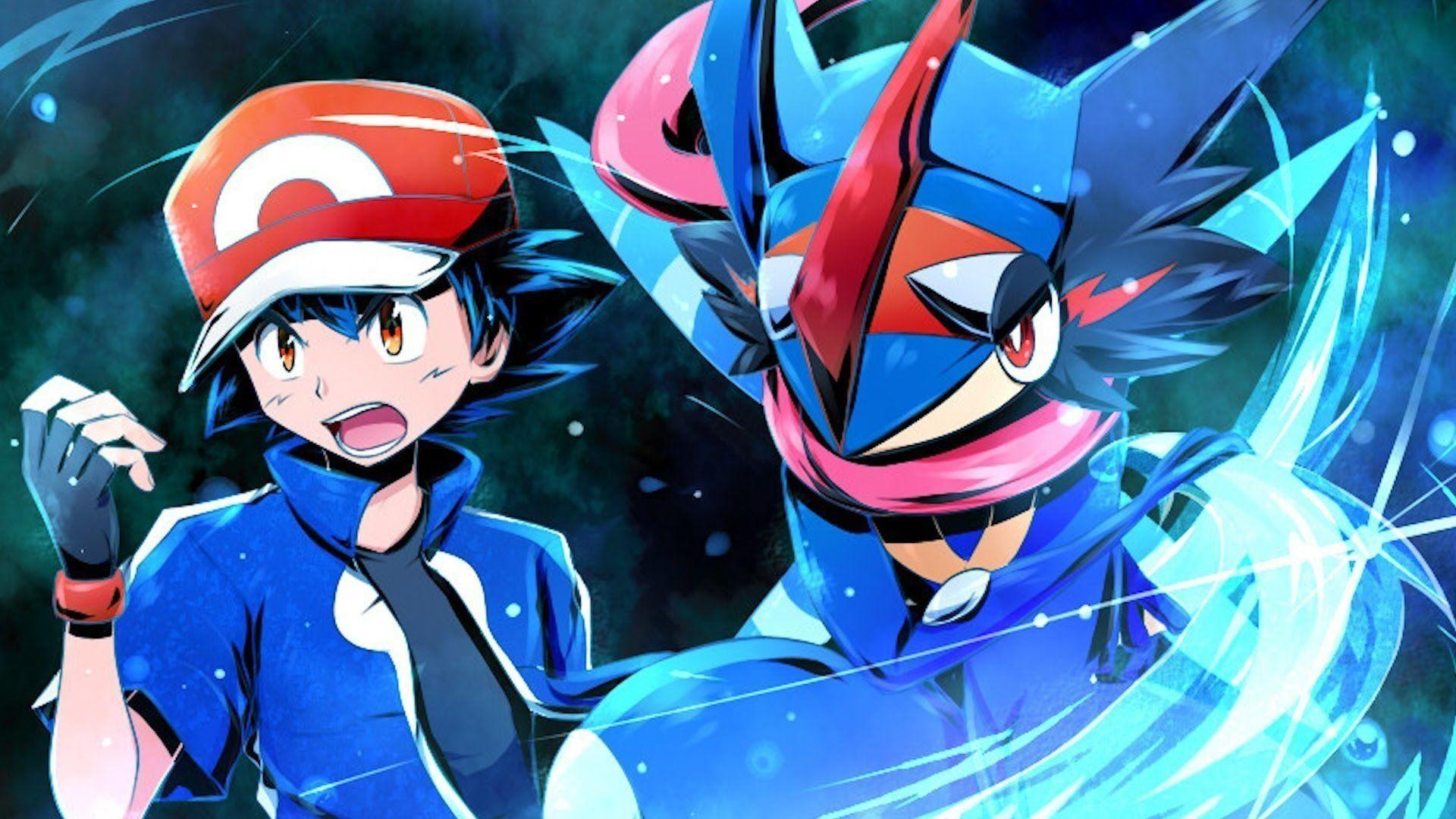 10 New Ash Greninja Wallpaper Hd FULL HD 1080p For PC Desktop