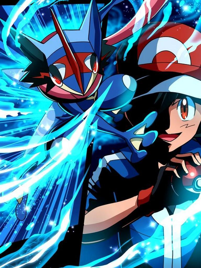 Ash Greninja Wallpaper - free download of Android version | m ...