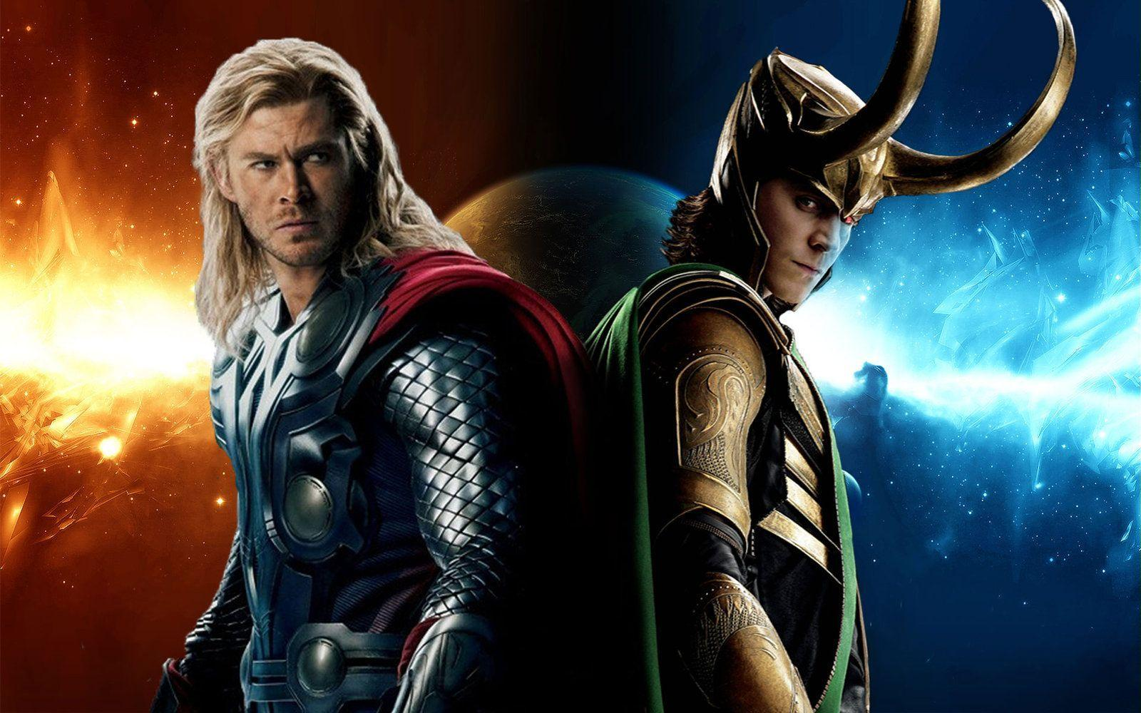 Thor And Loki Wallpapers - Wallpaper Cave