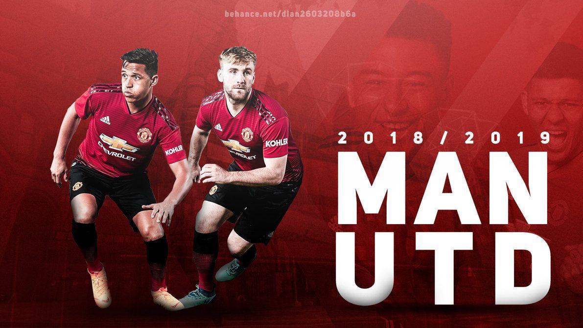 497f9926e64 Manchester United 2018 19 Wallpaper Desktop by dianjay on DeviantArt