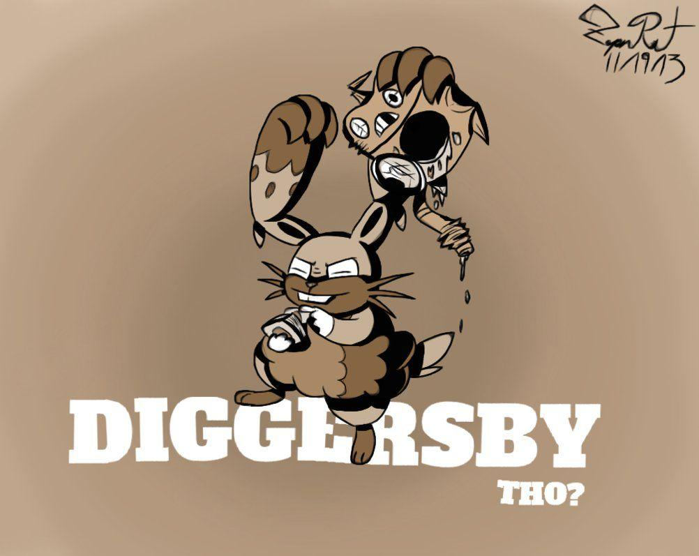 Diggersby tho? by Knightmarrow
