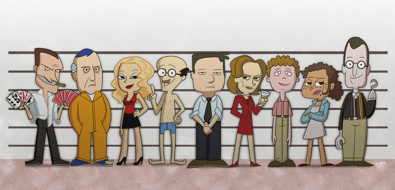Arrested development Cartoon Wallpapers
