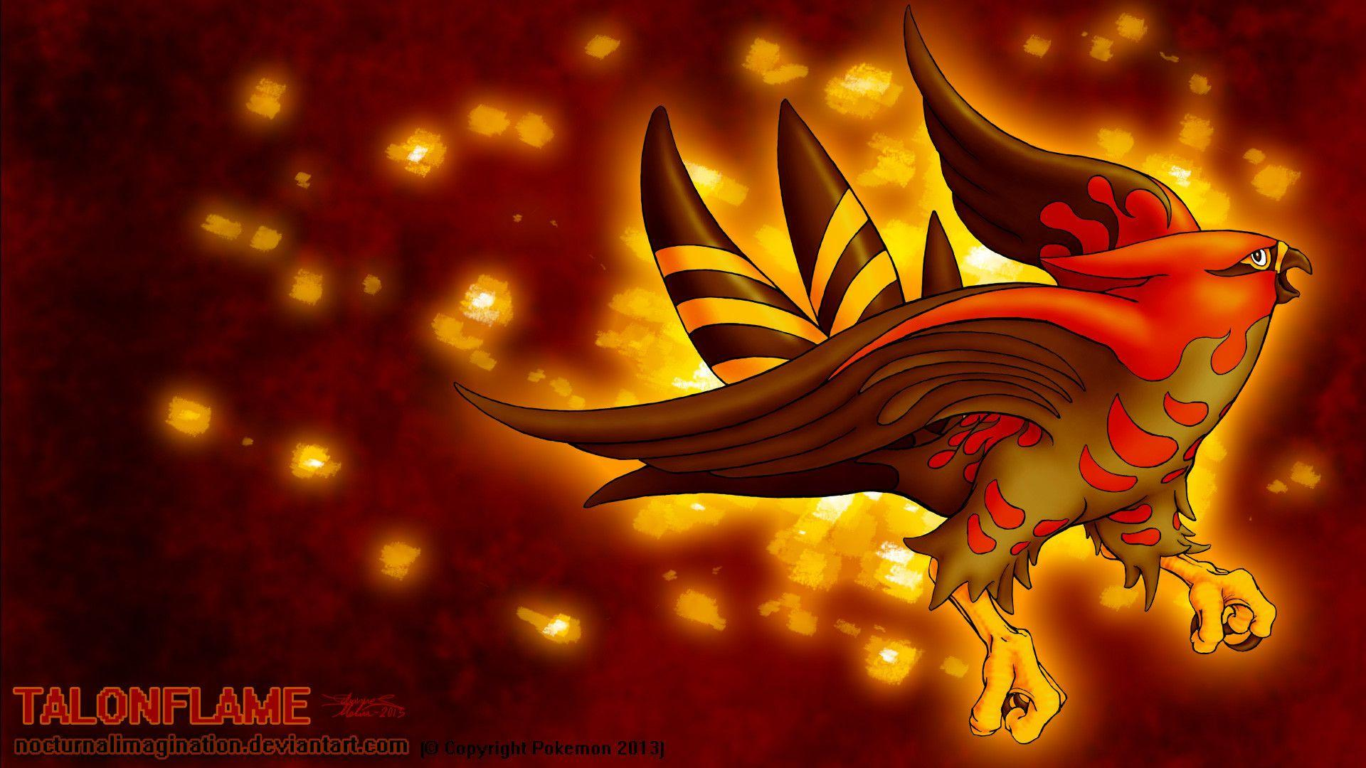 Talonflame Wallpapers