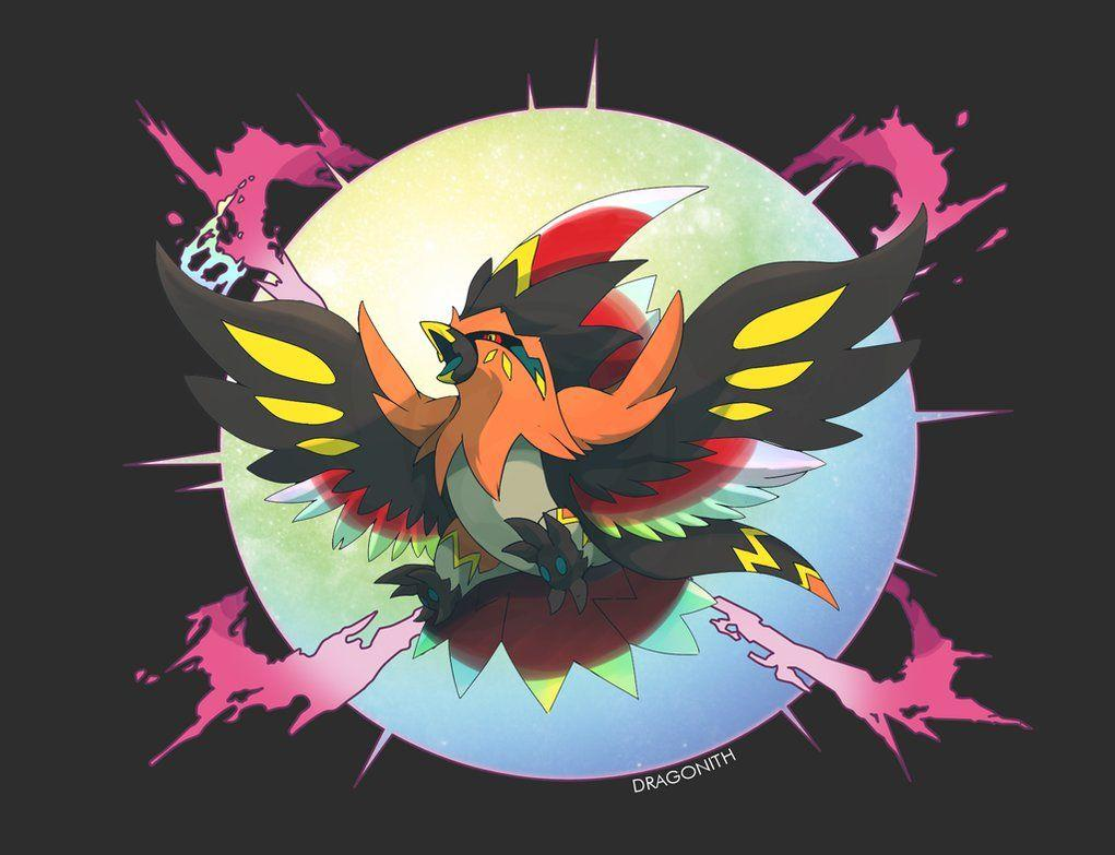 Mega Talonflame by TheBlazingK