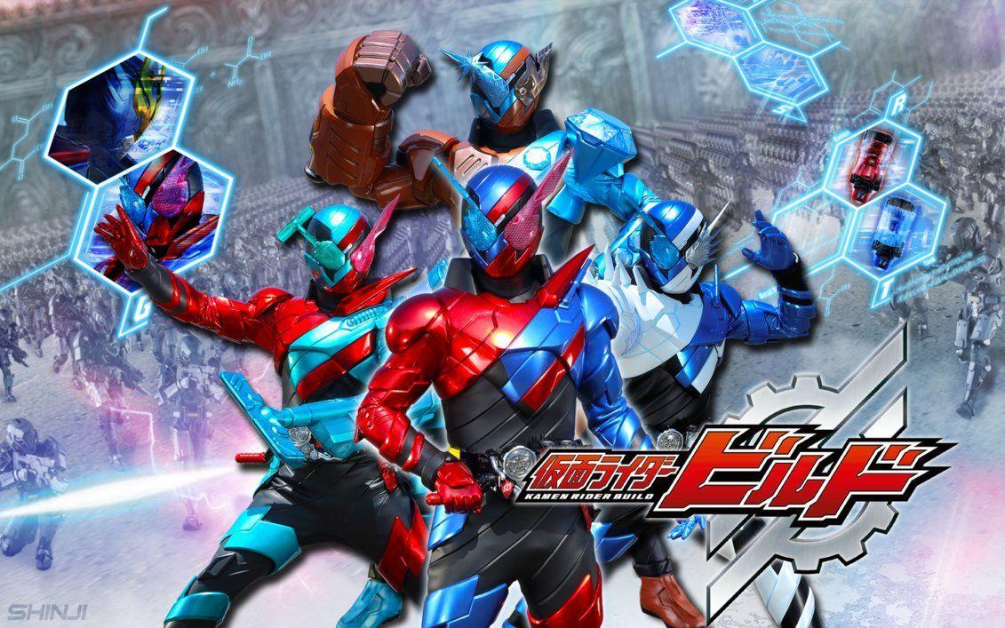 Kamen Rider Build Wallpaper Android