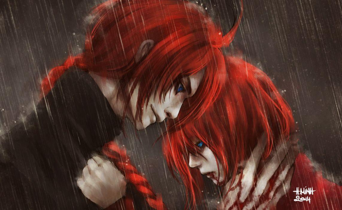Red Hair Anime Wallpapers - Wallpaper Cave
