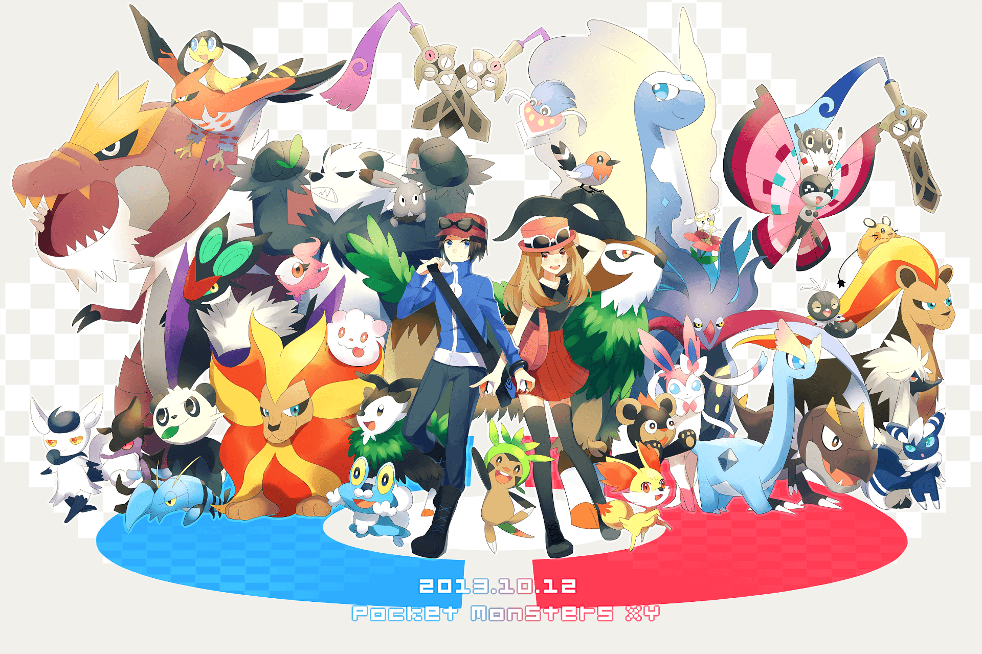 Pokemon: X and Y HD Wallpapers