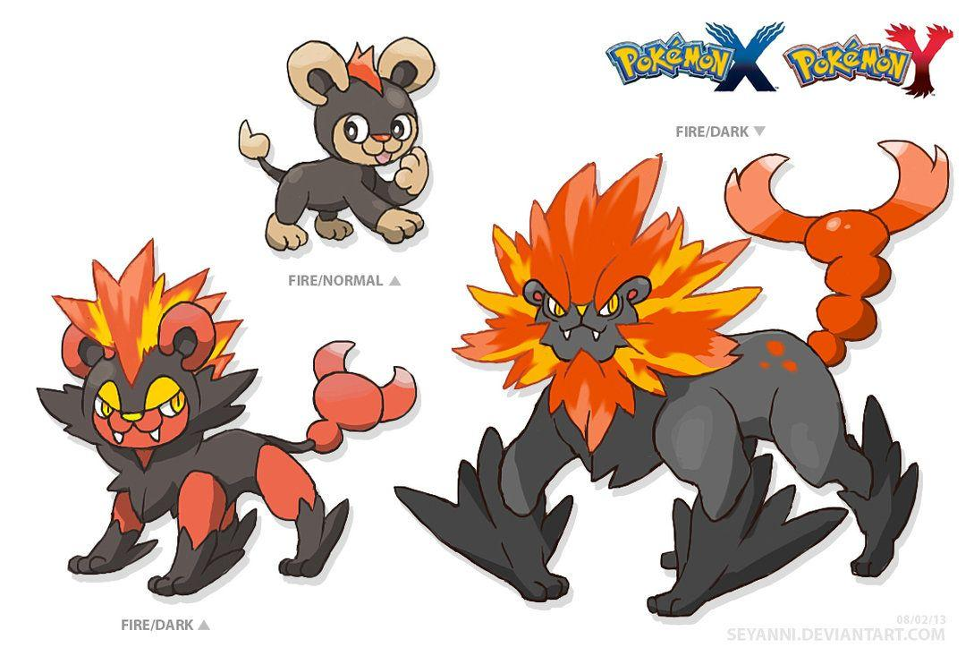 Litleo Evolutions by Seyanni on DeviantArt