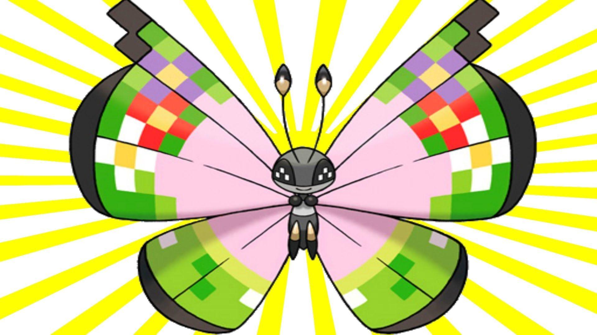 How to get Fancy Pattern Vivillon In Pokemon X and Y