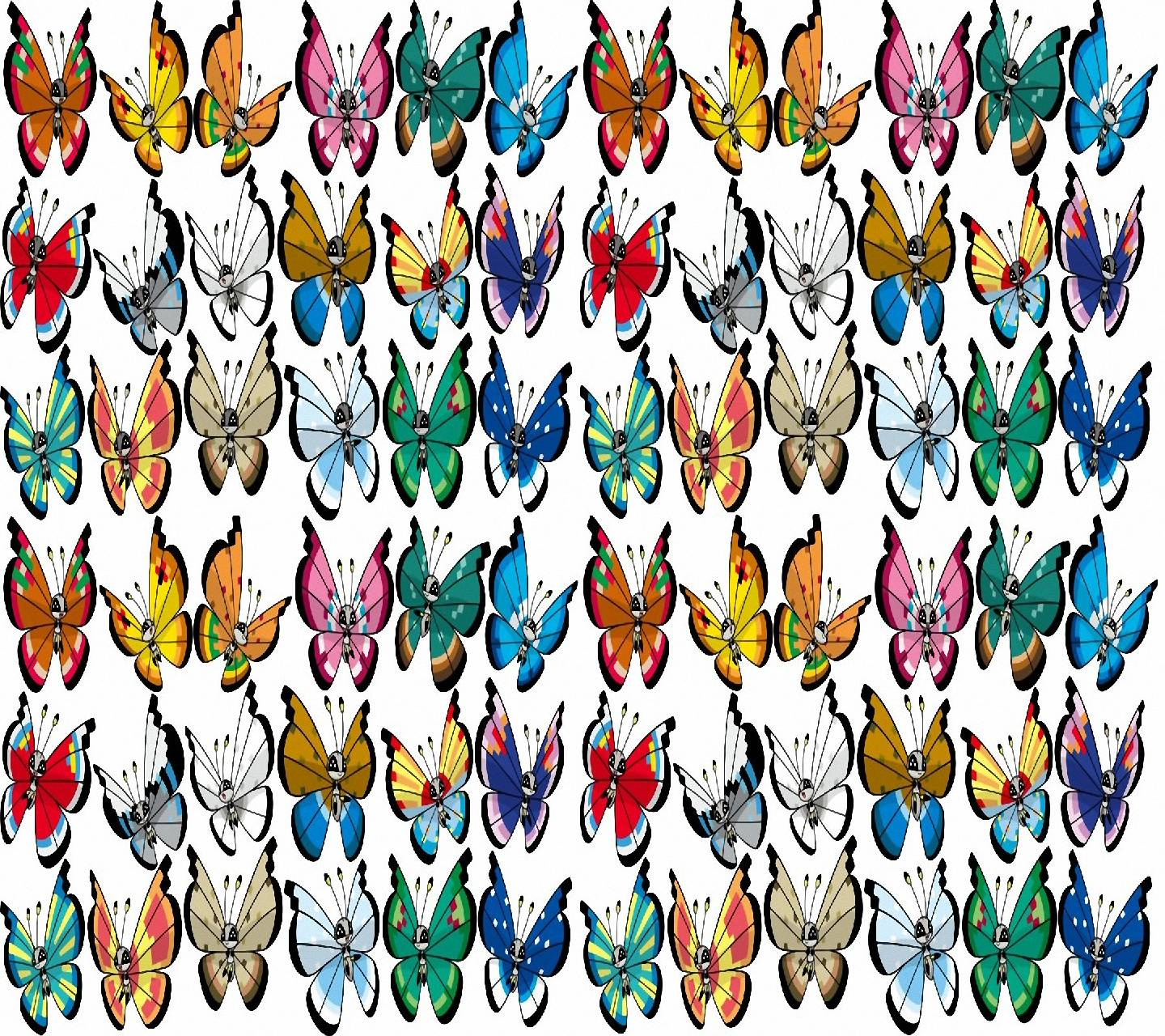 Vivillon patterns Wallpapers by toxictidus