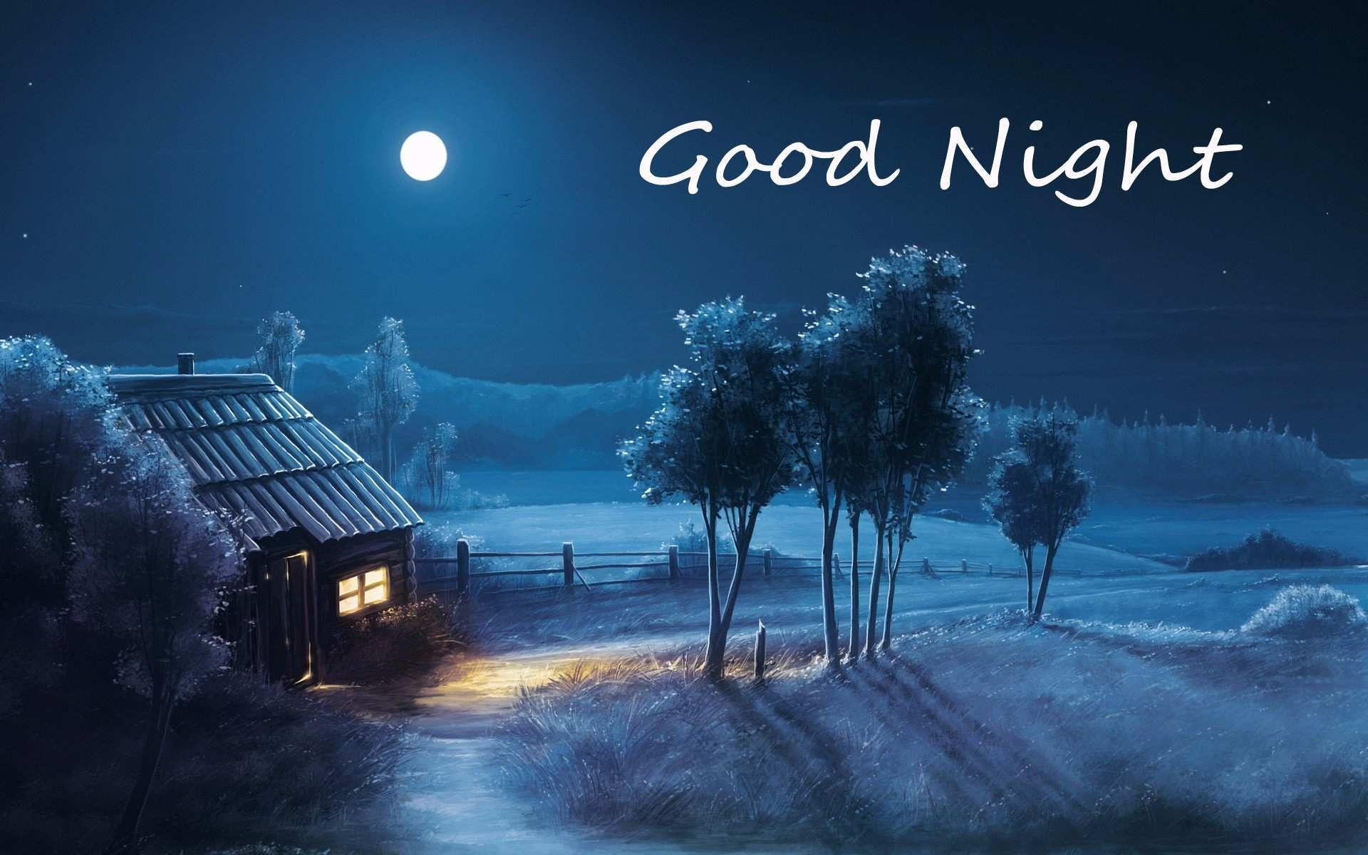 Good Night Friend Wallpapers Wallpaper Cave