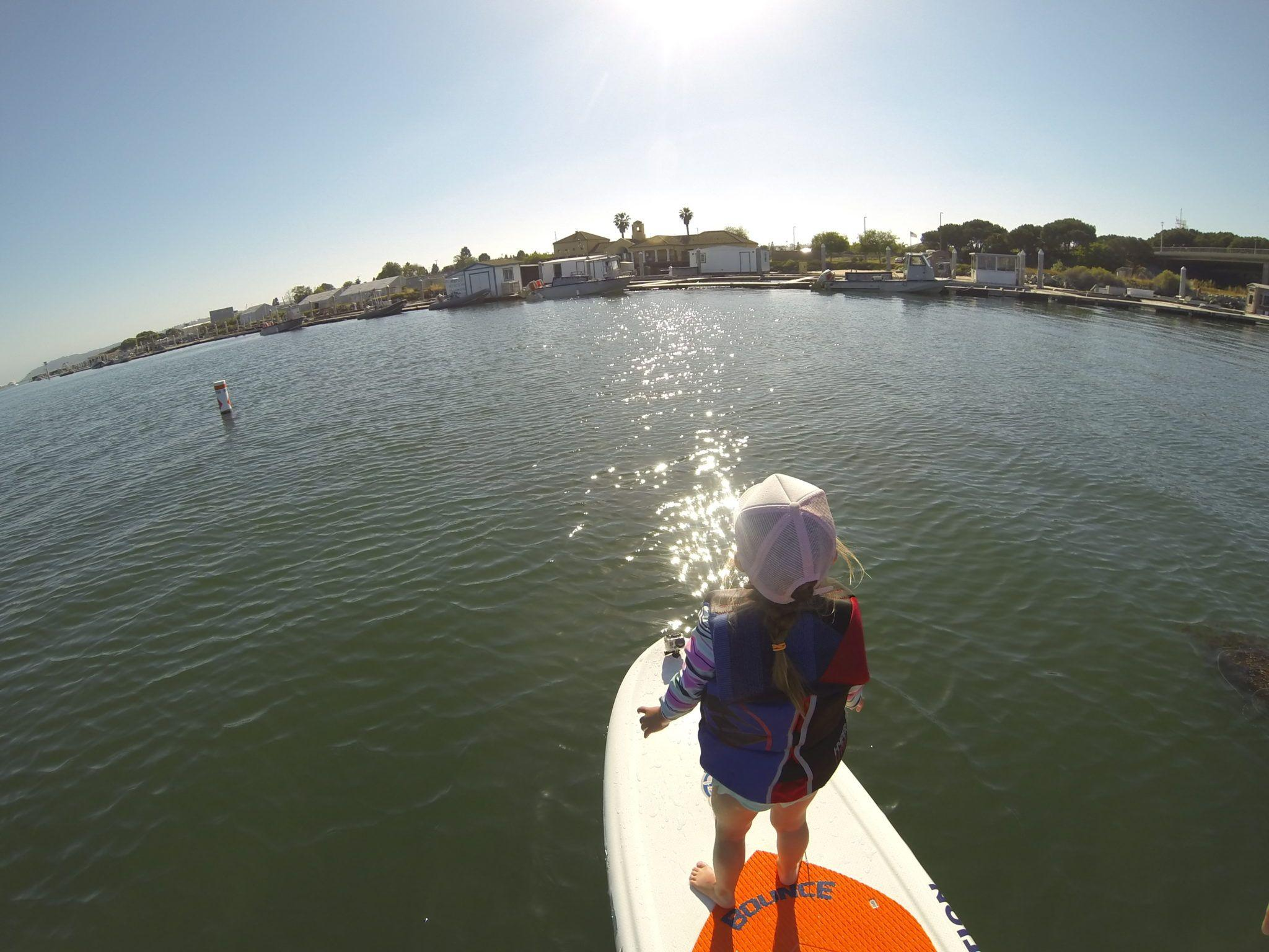 Kids Interested in SUP