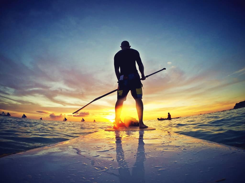 Calories Burned Stand Up Paddle Boarding