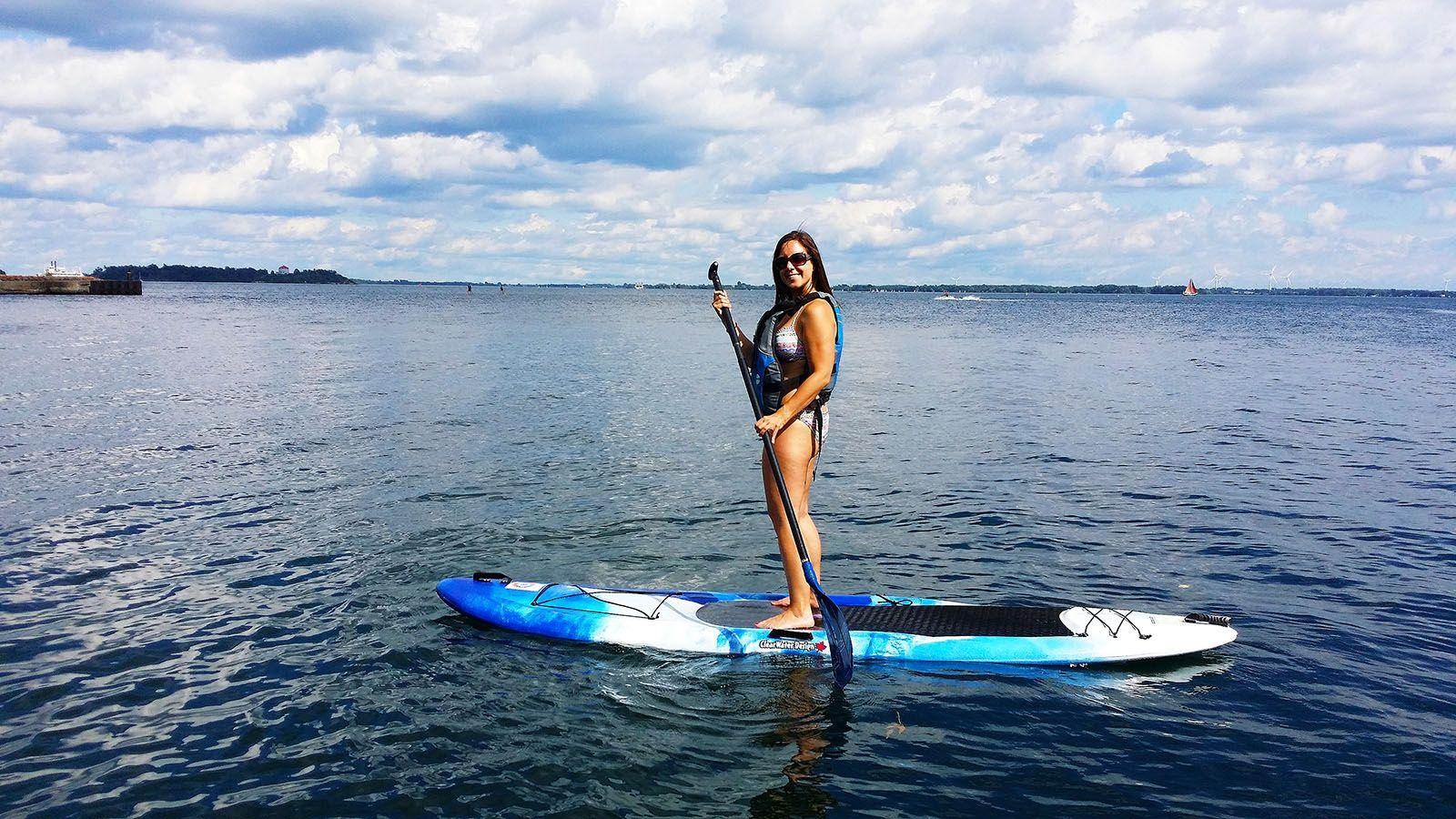 An Invigorating Experience: Stand Up Paddleboarding in Kingston 1000