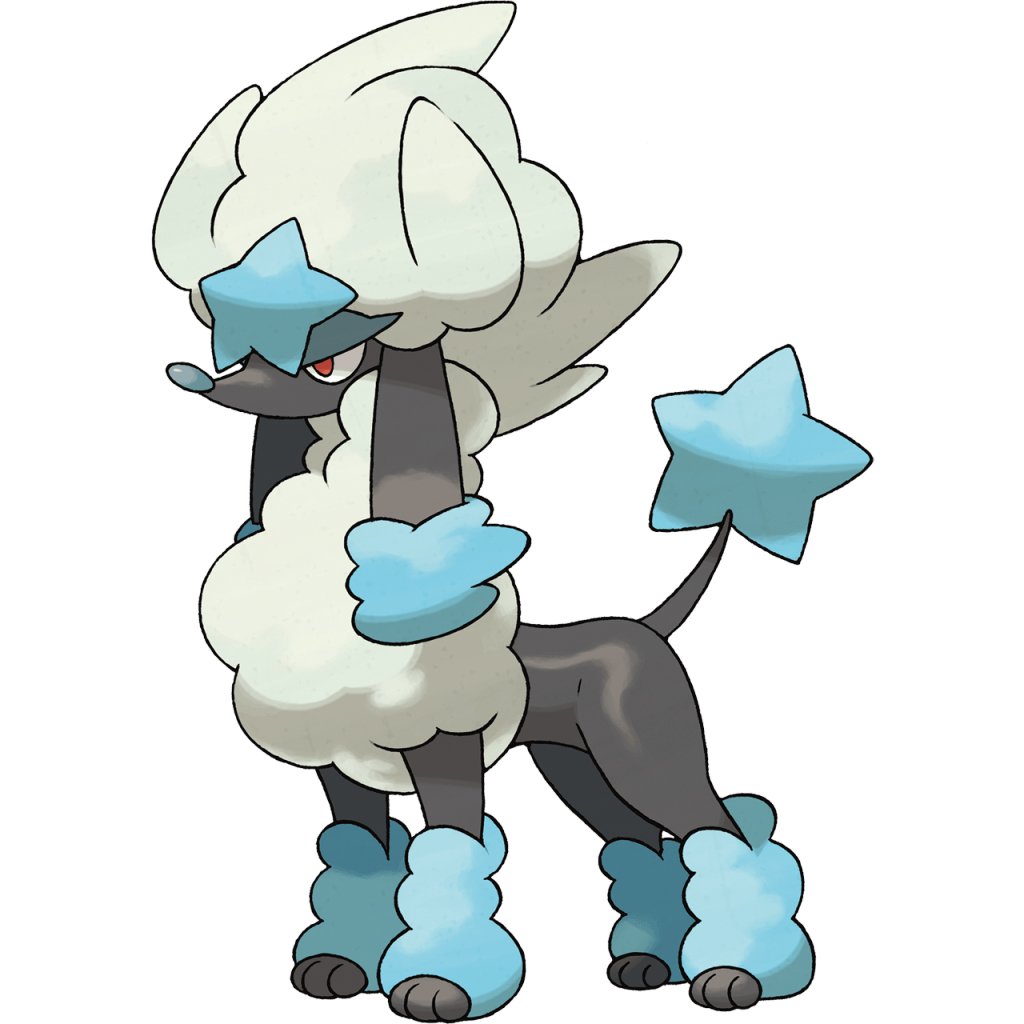 Blue/Star Furfrou: The stylish Pokémon Furfrou can have its ...