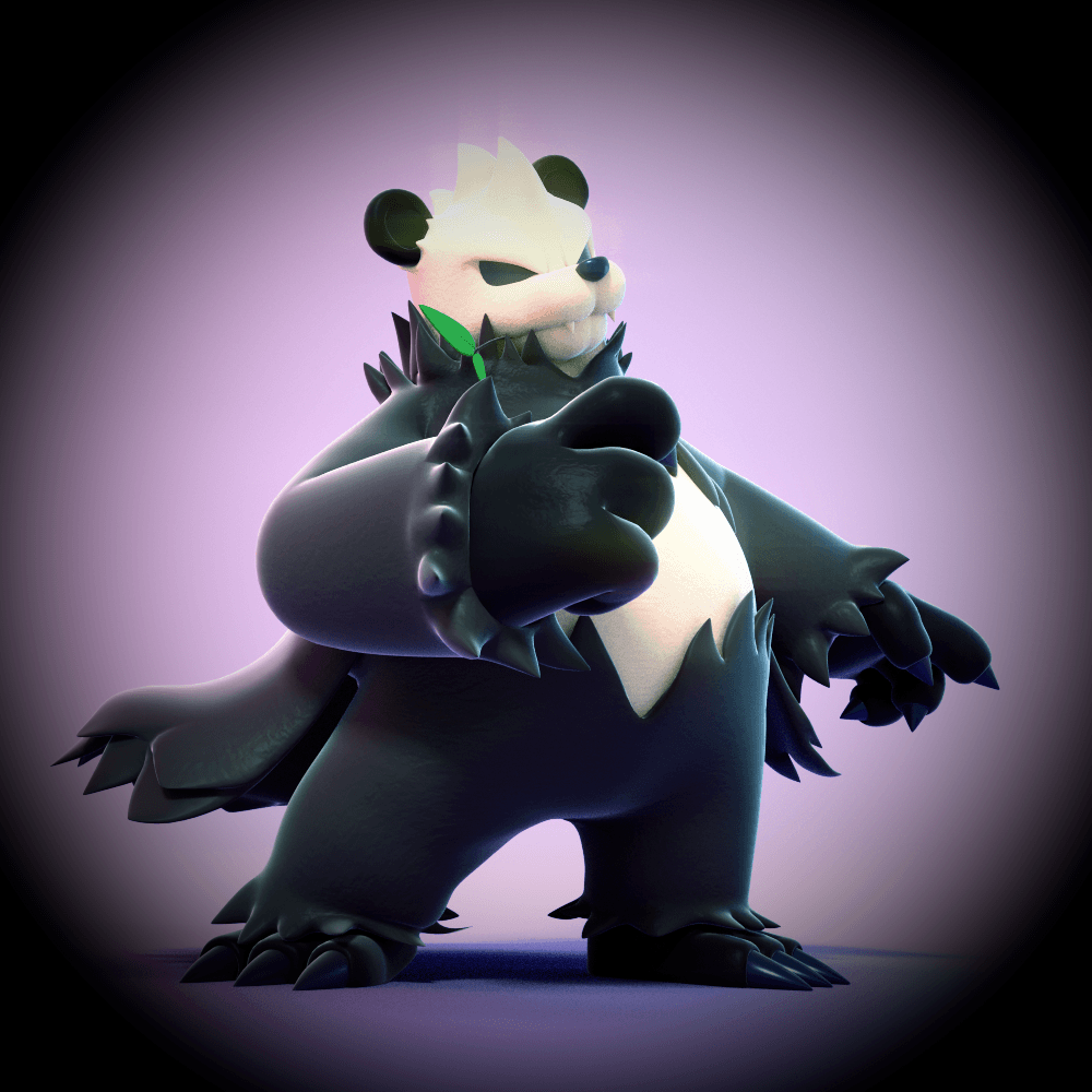 Pangoro! by SmashingRenders