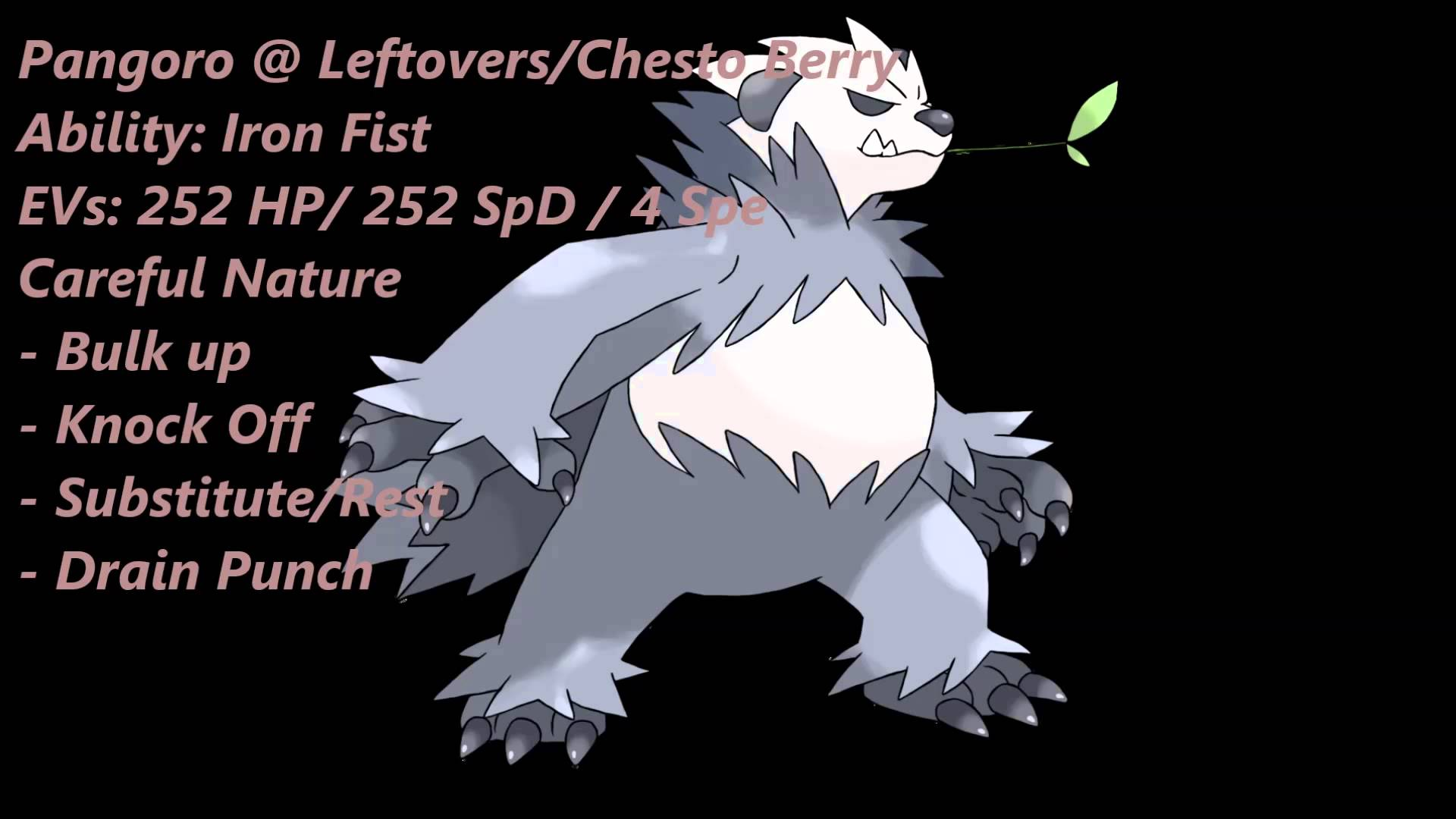 Pokemon Review: Pangoro