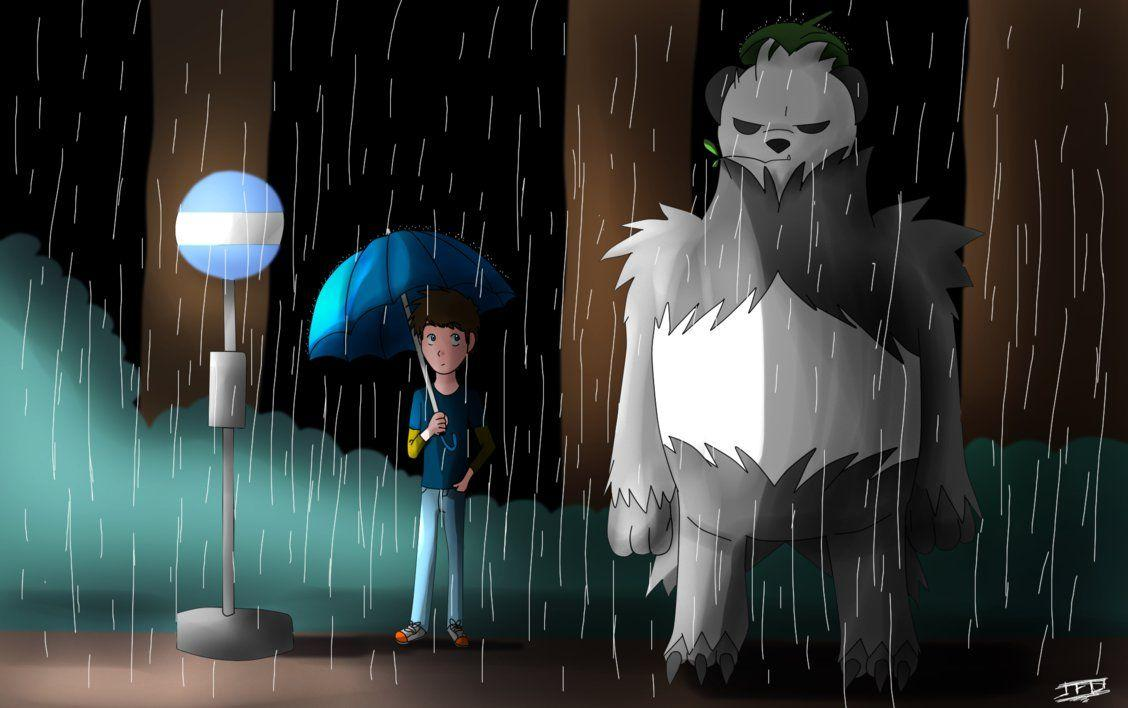 My neighbor Pangoro by LordBlackTiger666