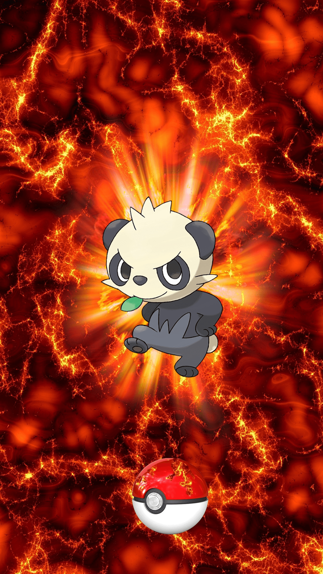 674 Fire Pokeball Pancham 142 Yancham 149 Egg | Wallpaper