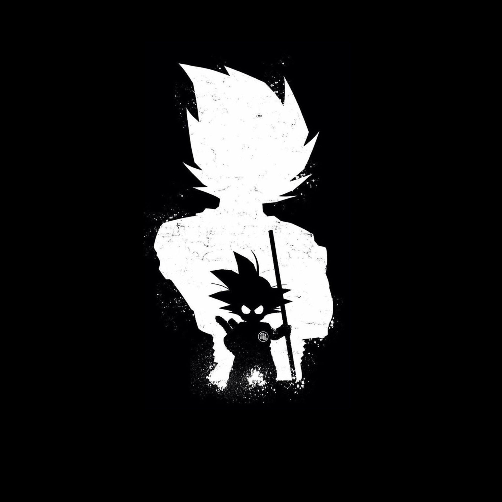 Goku Black And White Wallpapers Wallpaper Cave
