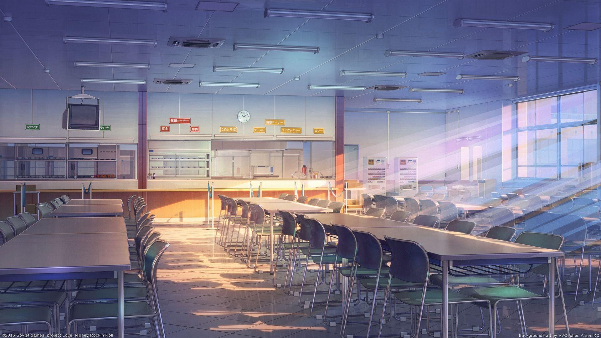 Anime School Wallpapers Wallpaper Cave