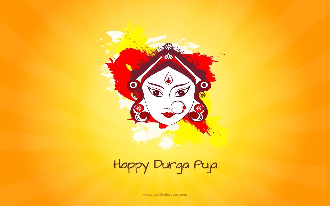Happy Durga Puja Wallpapers Wallpaper Cave